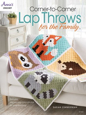 cover image of Corner-to-Corner Lap Throws For the Family