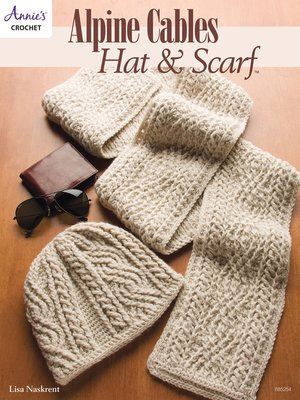 cover image of Alpine Cables Hat & Scarf