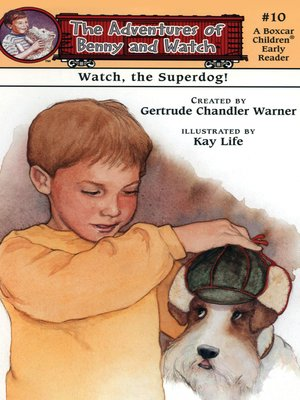 cover image of Watch, the Superdog!