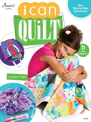 cover image of I Can Quilt