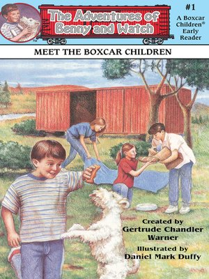 cover image of Meet the Boxcar Children
