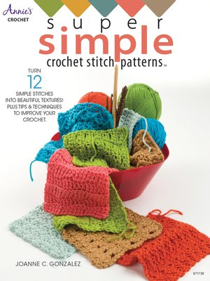 cover image of Super Simple Crochet Stitch Patterns