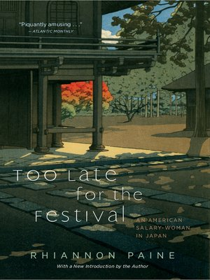 cover image of Too Late for the Festival