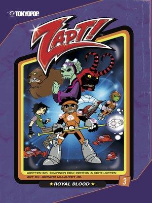 cover image of Zapt! manga volume 3