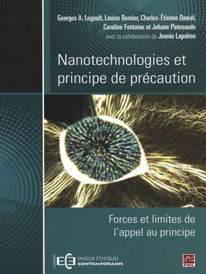 cover image of Nanotechnologies et principe de précaution