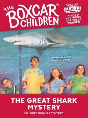 cover image of The Great Shark Mystery