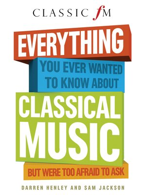 cover image of Everything You Always Wanted to Know About Classical Music