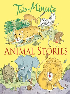 cover image of Two-Minute Animal Stories