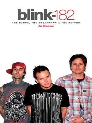 cover image of Blink 182--The Band, the Breakdown & the Return