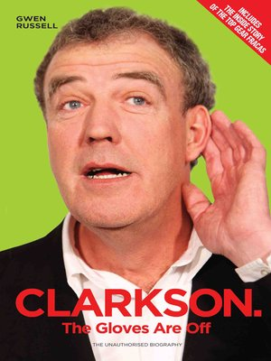 cover image of Clarkson--The Gloves Are Off