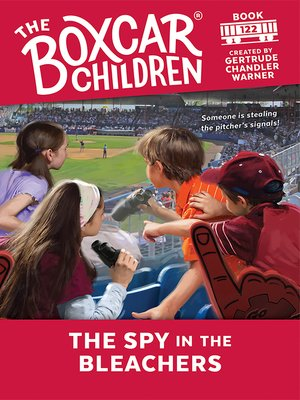 cover image of The Spy in the Bleachers