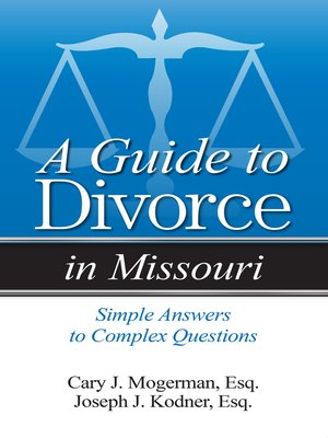cover image of A Guide to Divorce in Missouri