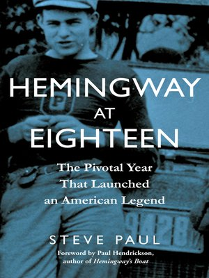 cover image of Hemingway at Eighteen