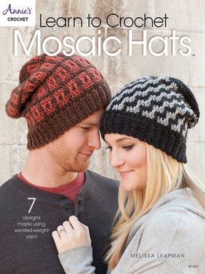 cover image of Learn to Crochet Mosaic Hats