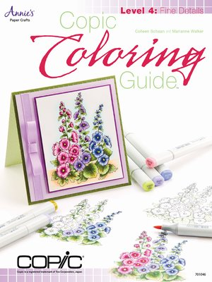 cover image of Copic Coloring Guide Level 4