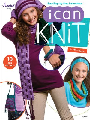 cover image of I Can Knit