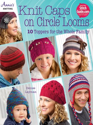 cover image of Knit Caps on Circle Looms
