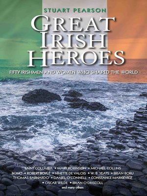 cover image of Great Irish Heroes