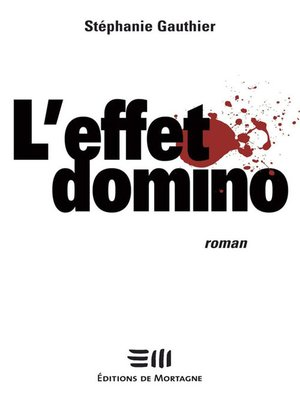 cover image of L'effet domino