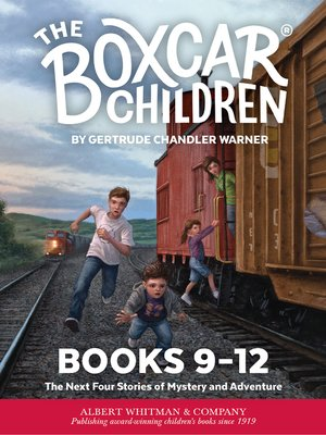 cover image of The Boxcar Children Mysteries Boxed Set, Books 9-12