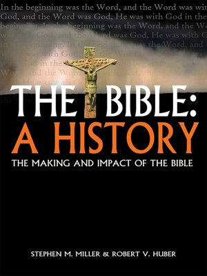 cover image of The Bible: A History