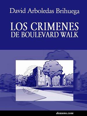 cover image of Los crímenes de Boulevard Park
