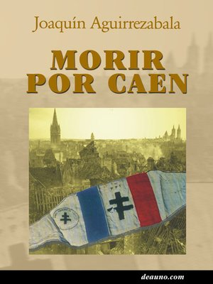 cover image of Morir por Caen