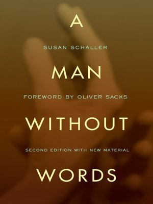 cover image of A Man Without Words
