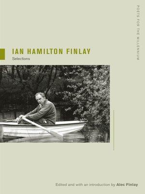 cover image of Ian Hamilton Finlay