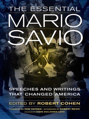 cover image of The Essential Mario Savio