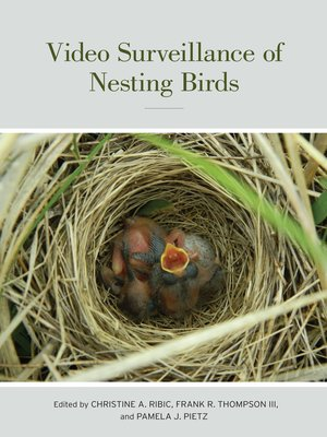 cover image of Video Surveillance of Nesting Birds