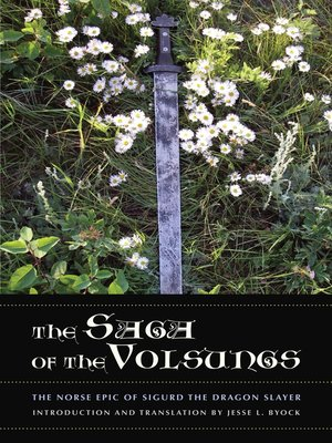 cover image of The Saga of the Volsungs