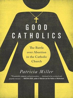 cover image of Good Catholics