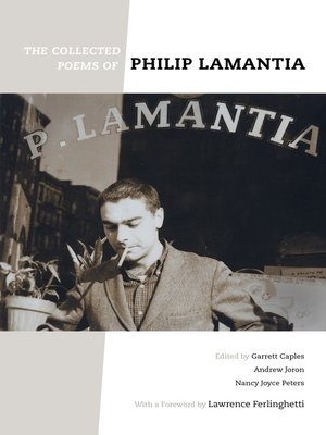 cover image of Collected Poems of Philip Lamantia