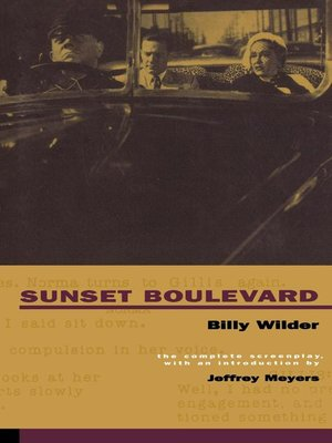cover image of Sunset Boulevard