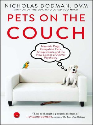 cover image of Pets on the Couch
