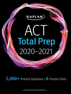 cover image of ACT Total Prep 2020-2021