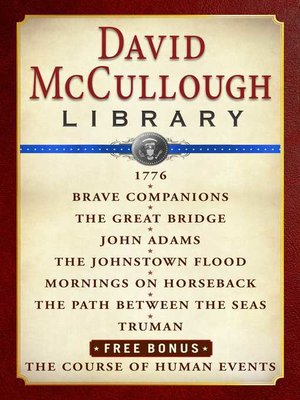cover image of David McCullough Library E-book Box Set