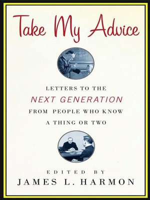 cover image of Take My Advice