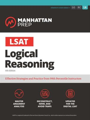 cover image of LSAT Logical Reasoning