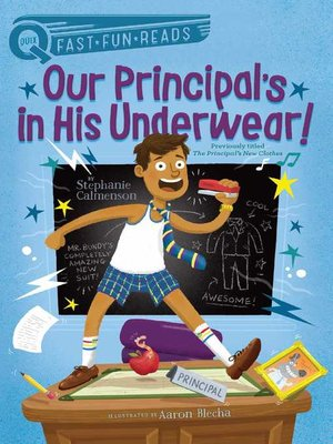 cover image of Our Principal's in His Underwear!