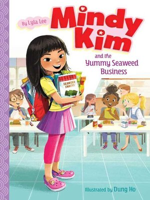 cover image of Mindy Kim and the Yummy Seaweed Business
