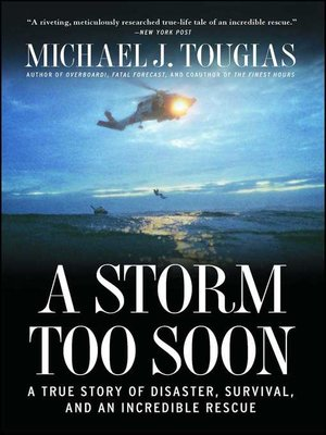 cover image of A Storm Too Soon