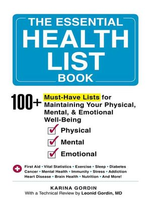 cover image of The Essential Health List Book