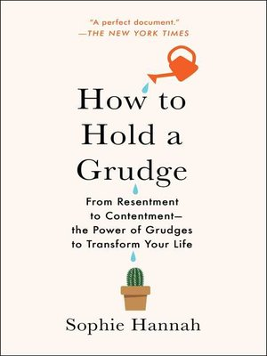 cover image of How to Hold a Grudge