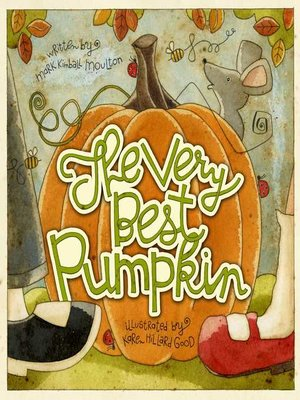 cover image of The Very Best Pumpkin