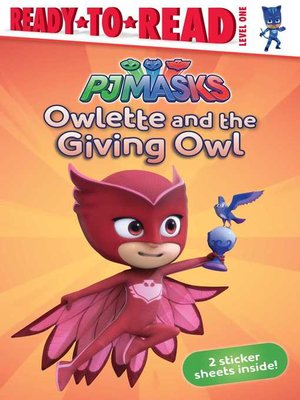 cover image of Owlette and the Giving Owl