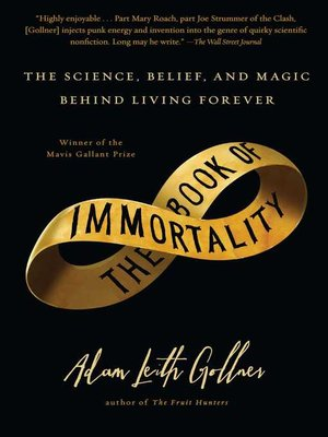 cover image of The Book of Immortality