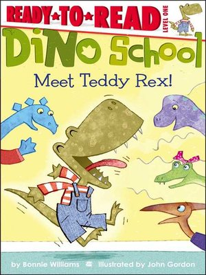 cover image of Meet Teddy Rex!