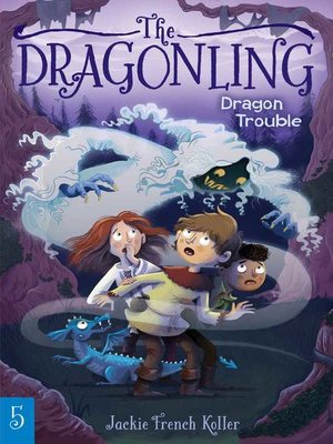 cover image of Dragon Trouble